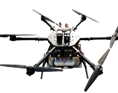 Drone On-board 4G-LTE Private Networking System